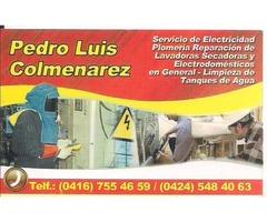 SERVICIO DE ELECTRICIDAD Y PLOMERIA