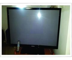 "TV PLASMA SANSUNG 42"" HD   PANTALLA GOLPEADA"