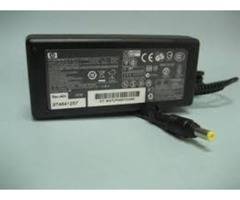 cargador para laptop HP COMPAQ de punta amarilla