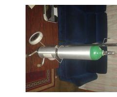 Bombona oxigeno medicinal sin manómetro
