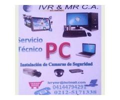 Servicio Técnico de Computadoras E instalación de camaras