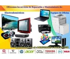 SERVICIO TÉCNICO A DOMICILIO DE TV LCD/LED Y COMPUTADORAS 04267526923