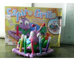 Dotty Espiro Grillo Garabatero Dibujador De Kreisel