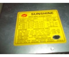 Fuente de Poder Marca SunShine (Usada) de 300W (Funcionando).
