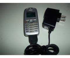 teléfono Sagen Modelo X1 (de Chip) para Repuesto o Reparar + Bateria + Cargador