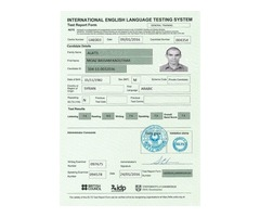 Necesita certificado en IELTS, TOEFL, CELTA, DELTA, GRE y otros Diplomas con urgencia?