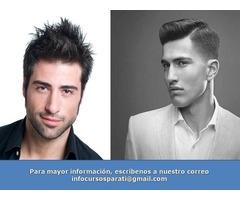 Curso, Barberia Profesional A Tijera.