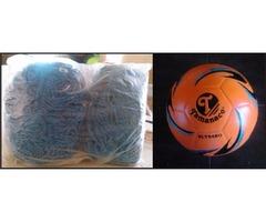 Mallas para arqueria  de fútbol + El Balón tamanaco