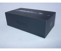 Caja Iphone 5 64 Gb Negro