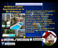 ALQUILO Apartamento en Av El Milagro