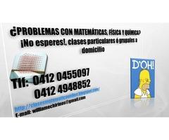 CLASES PARTICULARES A DOMICILIO DE: MATEMATICA; FISICA Y QUIMICA - Imagen 4/6