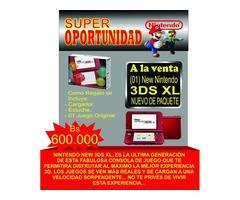 NINTENDO NEW 3DS XL NUEVO DE PAQUETE MAS 3 REGALOS