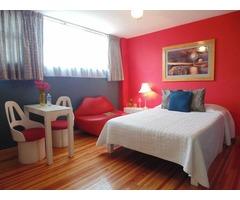 ¡Ven y disfruta la ciudad de México, suites por noches semanas o meses!!!
