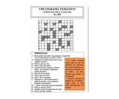 Revista Pasatiempo CruciSalud - Ciencias de la Salud