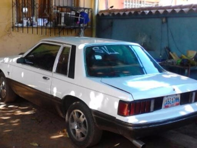 Ford Mustang añon82 - 1/4