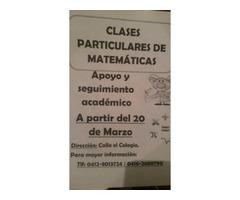 CLASES DE MATEMATICAS PARA PRIMARIA