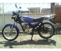 moto yamaha YB125 año 2008