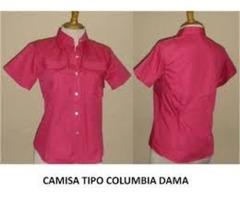 Camisas Camperas o tipo columbia dama o caballero