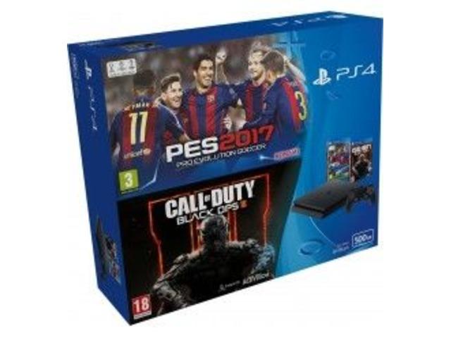 Sony Playstation 4 500gb Ps4 Sellado + 2 juegos + 4 Controles - 1/3
