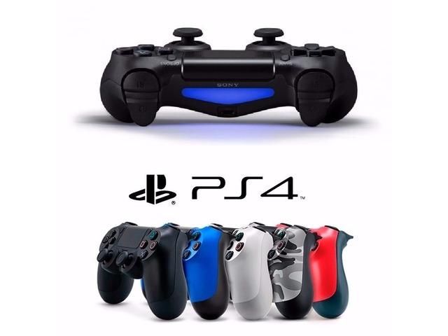 Sony Playstation 4 500gb Ps4 Sellado + 2 juegos + 4 Controles - 2/3