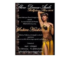 Show de Danza Árabe para todo tipo de eventos en Maracaibo
