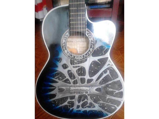 guitarra acustica completamente nueva - 2/3