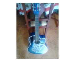 guitarra acustica completamente nueva