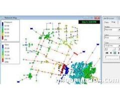 Diseño, simulación y análisis de redes, sistemas y tuberías de distribución y suministro de agua