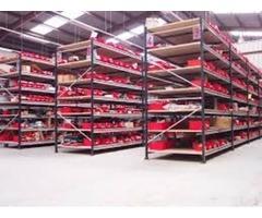 Organización de almacenes de repuestos, materiales, herramientas, equipos y lubricantes