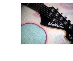 Guitarra Electrica Washburn PRO X Series modelo X 10, con estuche y un cable. - Imagen 3/6