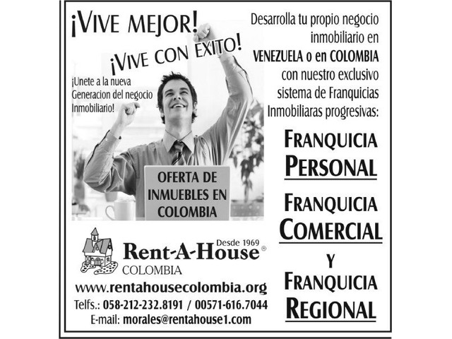 Franquicia Inmobiliaria en Venezuela Rentahouse - 2/6