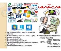 Reparación Y Mantenimiento De Computadoras, Laptops, Tablets