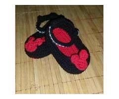 Zapatos tejidos para bebes