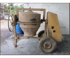 Tronpo Mezclador De Concreto Con Motor