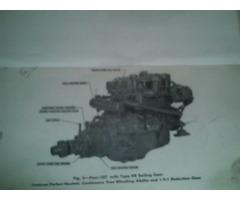 .WESTERBEKE 4-107 MARINE DIÉSEL ENGINE