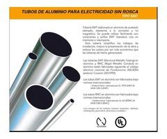 Tubería EMT de aluminio para electricidad