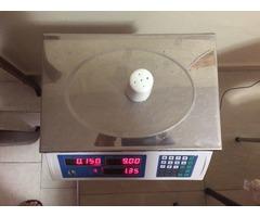 Peso electronico para charcuteria