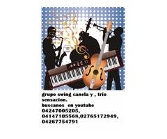 Grupo musical swing canela música tropical y trio sensación para boleros
