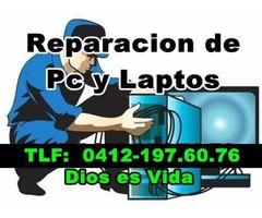 Servicio Tecnico de Computadoras y Laptops a Domicilio