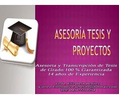 ASESORIA DE TESIS DE GRADO