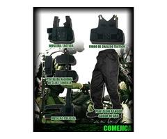 fabrica de musleras, correajes y forro de chalecos para policias, militares y paramedicos0