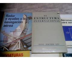 VENDO 50 LIBROS DE AERONAUTICA CIVIL EDITORIAL PARANINFO