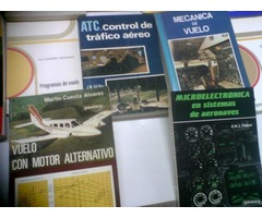 VENDO 50 LIBROS DE AERONAUTICA CIVIL EDITORIAL PARANINFO