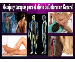 Masajes y Tratamientos para el alivio del dolor