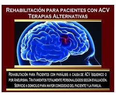 Rehabilitación para pacientes con ACV.