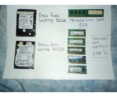 Memorias Ram DDR2 Laptops - Discos  Laptops cap.
