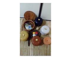 juego de soperas en ceramica nacional