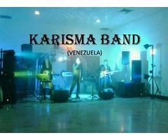 KARISMA BAND PRODUCCIONES, música en vivo para bodas.