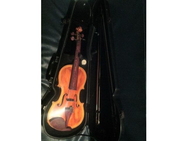 violin profesional y bajo electrico 5 cuerdas - 1/6