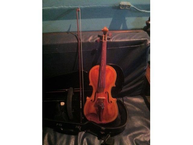 violin profesional y bajo electrico 5 cuerdas - 3/6